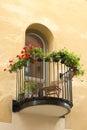 Single Balcony Stock Photography