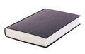Single black book Royalty Free Stock Photo