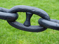 Single chain link Royalty Free Stock Photo
