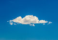 Single cloud Royalty Free Stock Photo