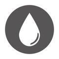 single droplet icon image