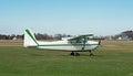 Single Engine Prop Plane Royalty Free Stock Photo