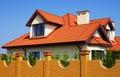 Single family house Royalty Free Stock Photo