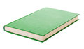 Single green book Royalty Free Stock Photo