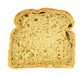 Single Scotch oatmeal bread slice Royalty Free Stock Photos