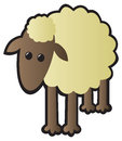 Single Sheep Royalty Free Stock Photos