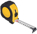 Single tape measure illustration in vector format eps Royalty Free Stock Photos