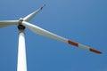 Single wind turbine Royalty Free Stock Photo