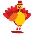 Single yellow turkey