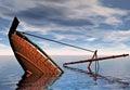 Potopenie loď