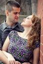 Sinnliche Paare in der Liebe Stockbilder