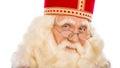 Sinterklaas Close Up On White ...