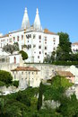 Sintra buildings in portugal close to lisbon Stock Photo