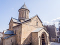 Sioni cathedral in tbilis the tbilisi georgia the was the main georgian orthodox and the seat of catholicos patriarch Royalty Free Stock Photography
