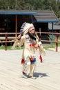 Sioux dancing ritual dance Stock Photos