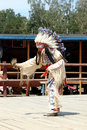 Sioux dancing ritual dance Royalty Free Stock Images