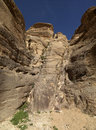 Siq canyon. Royalty Free Stock Images