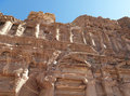 Siq canyon ancient city petra hidden of jordan Stock Photo