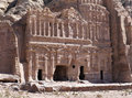 Siq canyon ancient city petra hidden of jordan Royalty Free Stock Photos