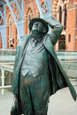 Sir John at St Pancras - 1 Royalty Free Stock Image