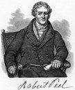 Sir robert peel er baronnet Images libres de droits