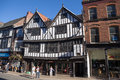 Sir thomas herbert's house city of york united kingdom september view at s oldest tudor building called at pavement in uk with Stock Image
