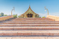 Sirindhorn Wararam Phu Prao Temple Wat Phu Prao Thailand.