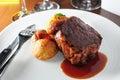 Sirloin steak Royalty Free Stock Photo