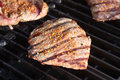 Sirloin Steak on the Grill Royalty Free Stock Image