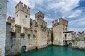Sirmione Garda Lake Italy north Lombardy Royalty Free Stock Photo