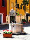 Sirmione square Stock Images