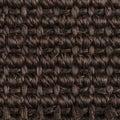 Sisal carpet closeup detail of a brown texture background Royalty Free Stock Photos
