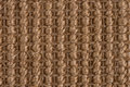 Sisal carpet closeup detail of a brown texture background Stock Photo
