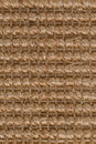 Sisal carpet closeup detail of a brown texture background Stock Photography