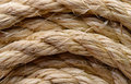 Sisal rope backgrounds and textures arranged as background close up shot Stock Images