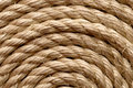 Sisal rope backgrounds and textures arranged as background close up shot Stock Photography