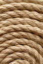Sisal rope backgrounds and textures arranged as background close up shot Royalty Free Stock Image