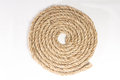 Sisal rope isolated on white background Royalty Free Stock Photos