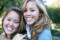Sisterly Love Royalty Free Stock Image