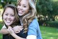 Sisterly Love Royalty Free Stock Images