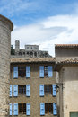 Sisteron citadelle and cathedral alpes de haute provence provence alpes cote d azur france the the Royalty Free Stock Photography