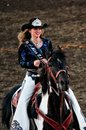 Sisters oregon june rodeo queen sara marcu portrait of in Royalty Free Stock Photography