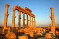 Site of Palmyra Syria Stock Photography