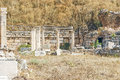 The site and ruins of Ephesus Royalty Free Stock Image