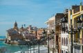 Sitges view beautiful town of spain Royalty Free Stock Photos