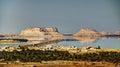 Siwa lake and oasis, Egypt Royalty Free Stock Photo
