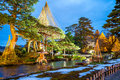 Six Attributes Garden Royalty Free Stock Photo