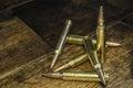 Six Bullets Royalty Free Stock Photo