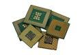 Six CPU Royalty Free Stock Image