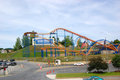 Six Flags Great Escape amusement park Royalty Free Stock Photo